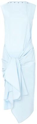 J.W.Anderson stud-embellished tie-waist dress