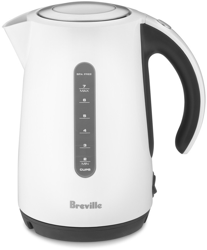 Breville Soft Top White Electric Tea Kettle