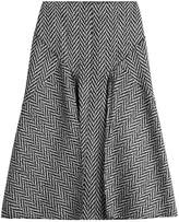 Joseph Midi Skirt with Wool