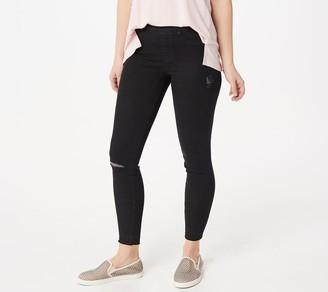 Spanx Distressed Vintage Skinny Jean
