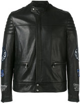 Blood Brother Video leather jacket - men - Cotton/Leather - M