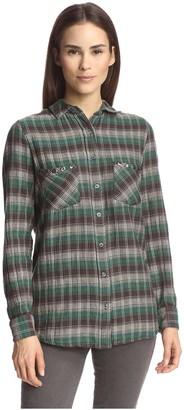 Gat Rimon Women's Plaid Shirt