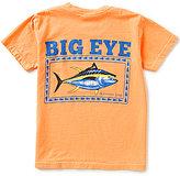 Southern Lure Big Boys 8-20 Big Eye Fish Graphic Short-Sleeve Pocket Tee