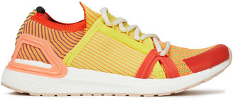 adidas by Stella McCartney Rubber-trimmed Stretch-knit Sneakers