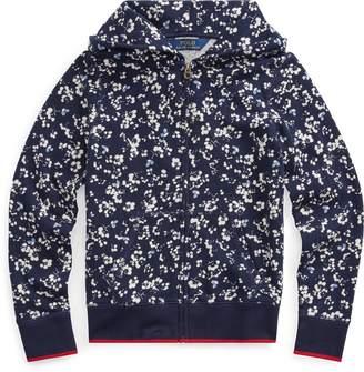 Ralph Lauren Floral Cotton Terry Hoodie