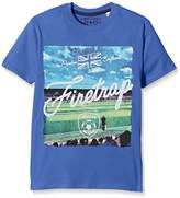 Firetrap Boy's Footy Ground T-Shirt