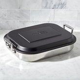 Crate & Barrel All Clad ® Lasagna Baker with Lid