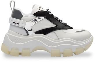 Prada Block low-top sneakers