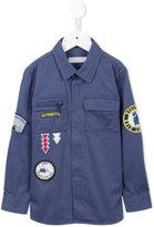 Stella McCartney decorative patches shirt