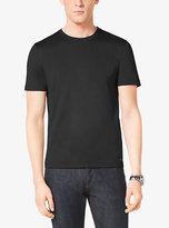 Michael Kors Cotton-Jersey Crewneck T-Shirt