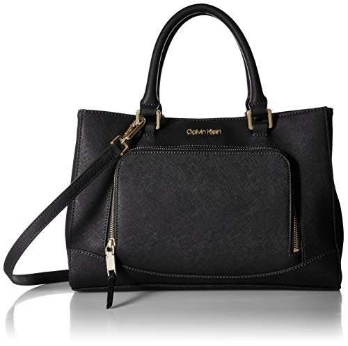 Calvin Klein Hudson Saffiano Leather East/West Satchel
