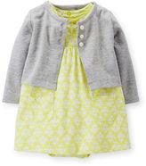 Carter's Yellow Dress and Cardigan Set - Baby Girls newborn-24m