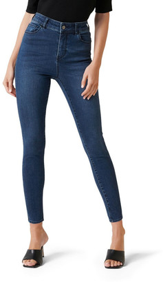 Forever New Zoe Mid Rise Ankle Grazer Jean