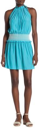 Ramy Brook Blaise Smock Waist Dress