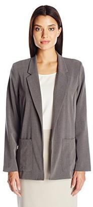 Briggs New York Women's Bistretch Long Sleeve Jacket