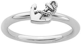 Simply Stacks Sterling Anchor Ring
