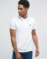 Esprit Slim Fit Polo Shirt with Contrast Tipping