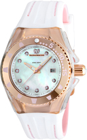 Technomarine Mother-of-Pearl & Rose Gold Cruise Locker Silicone Watch