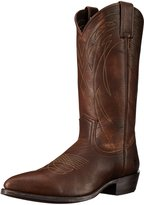 Frye Men's Billy Pull-On Boot Dark Brown Calf Shine Vintage 9 M US