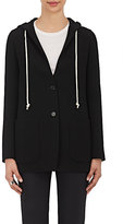 Helmut Lang Women's Hooded Two-Button Jacket