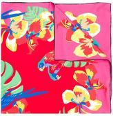 Valentino Garavani Valentino tropical print scarf - women - Silk - One Size