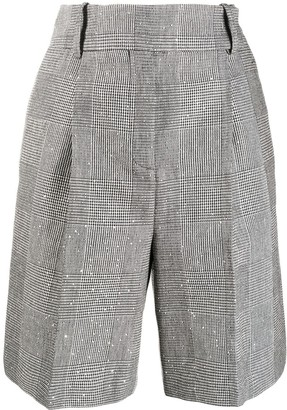 Ermanno Scervino Prince of Wales shorts