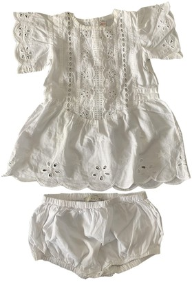 Stella Mccartney Kids White Cotton Dresses