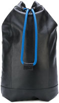 Diesel drawstring backpack - women - Calf Leather - One Size