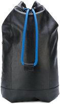 Diesel drawstring backpack