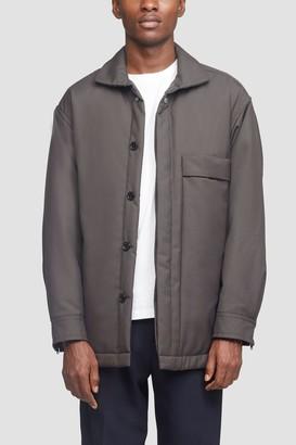 3.1 Phillip Lim Wool Serge Overshirt Jacket