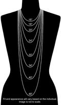 Margherita 18k Green Gold-Over-Silver Chain Necklace