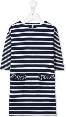 Il Gufo Casual Striped Dress