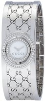 Gucci The Twirl 112 YA112512 Steel & Diamonds Quartz Women's Watch
