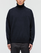 Ami Turtle Neck Oversize Fit Sweater
