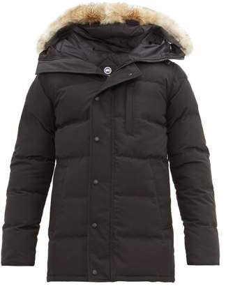 Canada Goose Carson Quilted Down Parka - Mens - Black