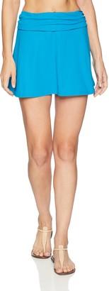 Gottex Women's Solid Swim Skirt Swimsuit Cover Up