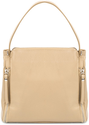 Italian Leather Giulia Massari Leather Top Handle Bag