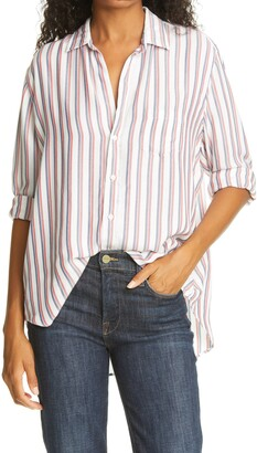 Frank And Eileen Eileen Fit Striped Shirt