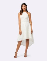 Forever New Cindi Lace High Low Midi Dress