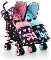 Cosatto Supa Dupa Double Stroller - Sis and Bro 5