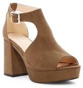 Qupid Lawson Platform Open Toe Sandal