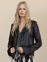 Bell Sleeve Jacket by Understated Leather at Free People