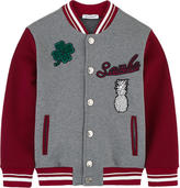 Dolce & Gabbana Teddy jacket with fancy patches