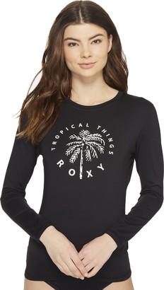 Roxy Women's Palms Away Long Sleeve Rashguard