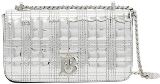 Burberry Small Quilted Metallic Leather Lola Bag