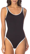 Kenneth Cole Reaction On The Edge One-Piece Tank Bodysuit