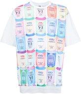 Y-3 cans print T-shirt - men - Cotton - XS