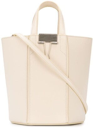Off-White Binder-Clip detail bucket bag