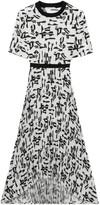Maje Rosyla Printed Midi Dress