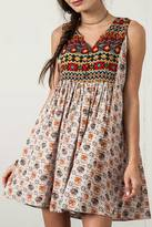 Umgee USA Sleeveless Peasant Dress